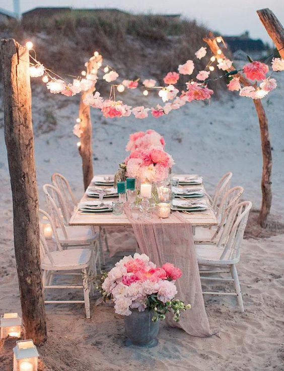 Beach Side Birthday Party