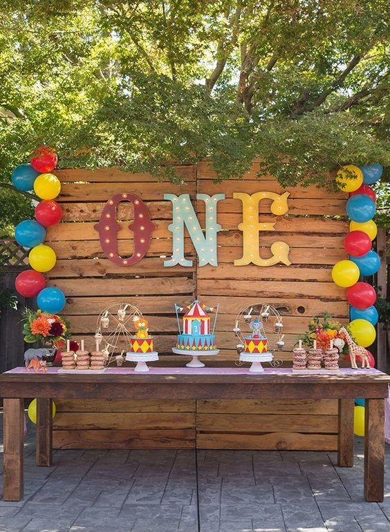 Outdoor Birthday Idea