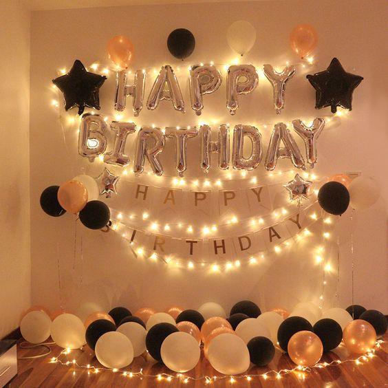 Birthday Party Idea at house
