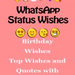 WhatsApp Status Birthday Wishes For Friends