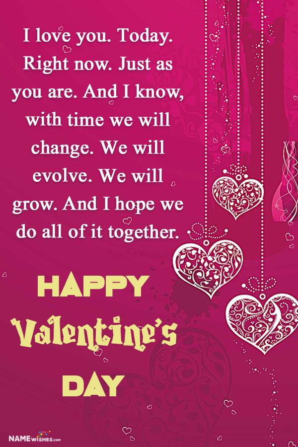 Valentines Day wishes Quotes Images