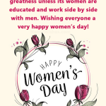 Happy Women's Day Wishes With Quotes and Images